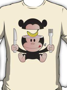 Monkey likes banana T-Shirt