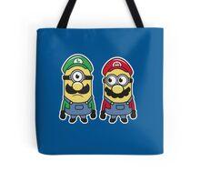 Super Minion Bros Tote Bag