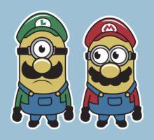 Super Minion Bros Kids Clothes