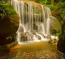 Leura Waterfall by Michael Matthews