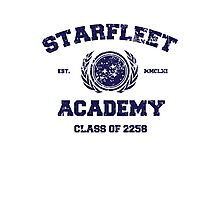Starfleet Acadmey Class of 2258 Photographic Print