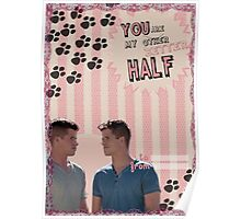 My Teenwolfed Valentine [You Are My Better Half] Poster