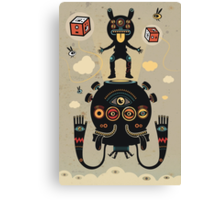 Monstertrap Canvas Print