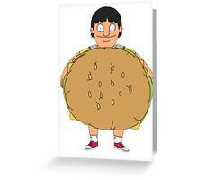 Gene (Burger) Belcher Greeting Card