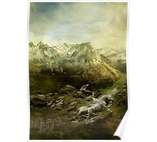 He Fled Through the Mountains Poster