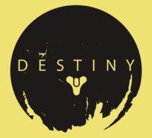 Destiny - Black Logo by AronGilli Kids Clothes