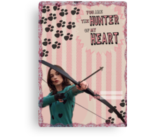 My Teenwolfed Valentine[Hunter Of My Heart] Canvas Print