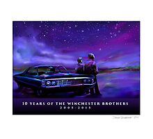 Impala Nights Photographic Print