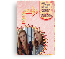 My Teenwolfed Valentine[New Best Friend] 2 Canvas Print
