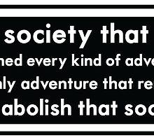 abolish society by ubikdesigns