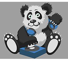 DJ Panda Photographic Print