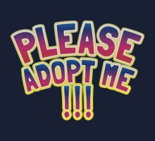 Please adopt me !!! by jazzydevil