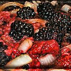 Journey into Sauce Raspberry Blackberry Onion by GolemAura
