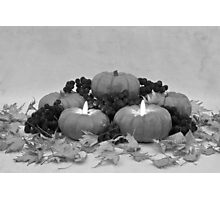 Pumpkin Pie To Follow Photographic Print