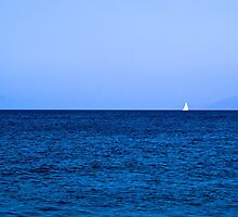 A sailboat by petrosdeme