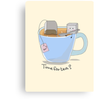 Time for tea? Canvas Print