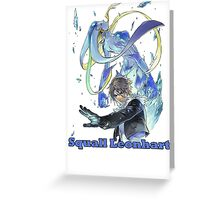 Squall Greeting Card
