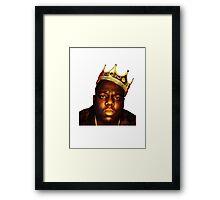 King B.I.G Framed Print
