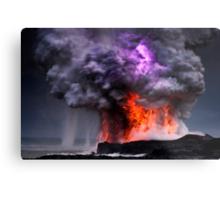 Kilauea Volcano at Kalapana 5 Metal Print