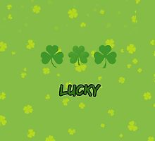 Saint Patrick's Day, Clovers, Lucky - Green by sitnica