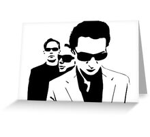 Soul Brothers Greeting Card
