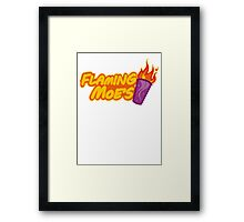The Flaming Moe´s Framed Print