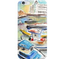 Boats In Siracusa iPhone Case/Skin
