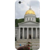 Vermont State House iPhone Case/Skin