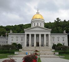 Vermont State House by grichuate