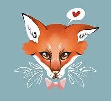 Awake Fox by hbitik