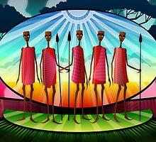 Masai Men by Viscious-Speed