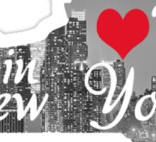 My Heart's in NY Sticker