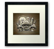 The Outlaws Framed Print