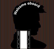 Welcome Aboard (David Tennant) by Funky-Designs