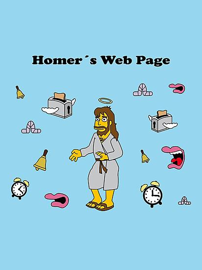 Homer´s Web Page by loku