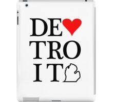 Detroit Love iPad Case/Skin