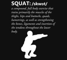 Squat Definition - White by nosnia
