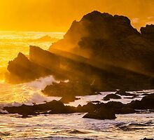 Sunset Rays by Teodora Motateanu