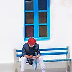 .....a tourist in Mykonos Greece.... by John44