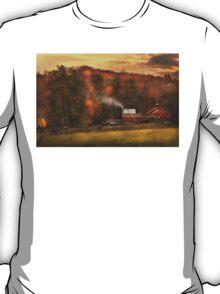 Autumn - Farm - Morristown, NJ - Charming farming T-Shirt