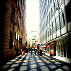 Adelaide CBD Sidewalks by Chris Chalk