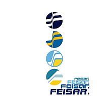 Feisar Team Logo Chronology Photographic Print
