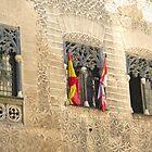 Segovia, Spain - 3 Windows by Michelle Falcony