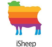 iSheep Apple logo spoof by angsteity