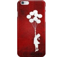 The Balloons Girls iPhone Case/Skin
