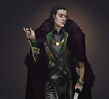 Loki - Ragnarok by doeeyedmonster