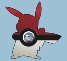 Red Pokeball Kids Clothes