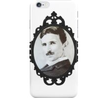 NikolaTesla Framed iPhone Case/Skin