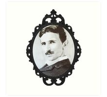 NikolaTesla Framed Art Print