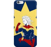 Captain Marvel iPhone Case/Skin